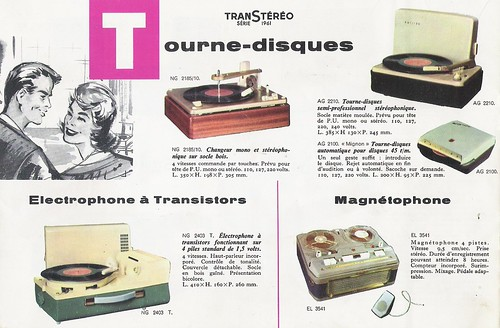 PHILIPS Radio, Radiophonos, Electrophones,Tourne-Disques, Television Brochure (The Netherlands 1961)_12