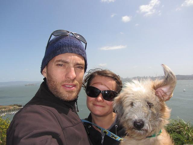 Mango, Patrick und Sherrie in Kanada. Jetzt geht es bald zurück nach Deutschland