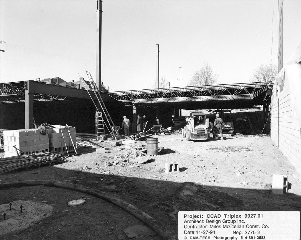 Joseph V Canzani Center Construction 07