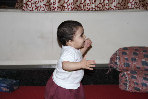 Learning to Walk.. She Knows How To Talk by firoze shakir photographerno1