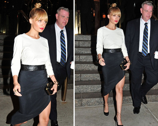 nicole-richie-winter-kate-twist-skirt