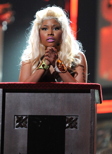 Nicki Minaj 2012 GRAMMY Performance: Roman Holiday 4