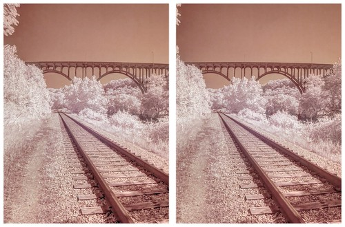 Cuyahoga Valley Railway Infrared