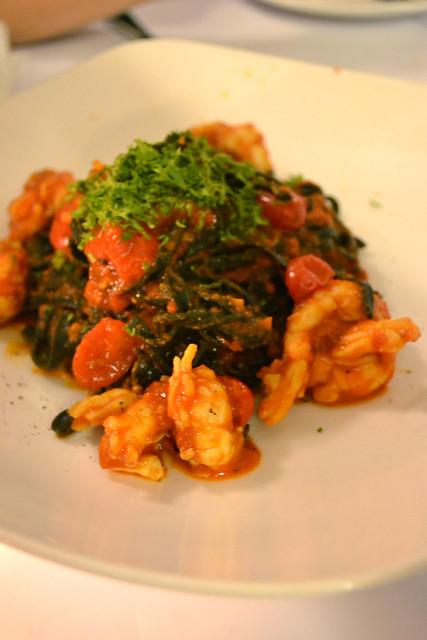 Squid Ink Pasta with Slipper Lobster, Villa di Parma
