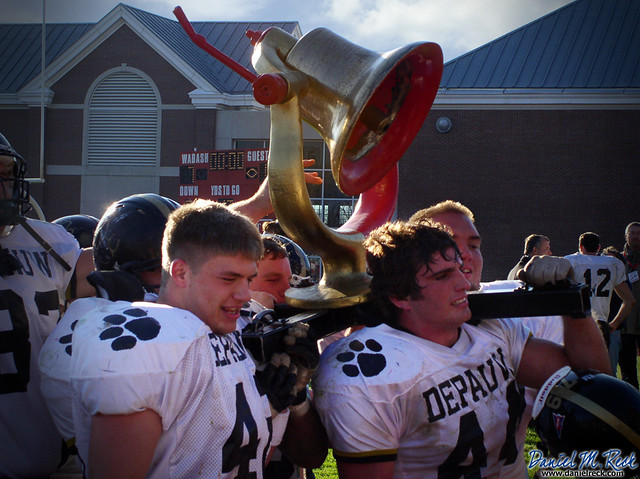 DePauw Wins the Battle for the Monon Bell