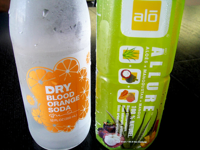 Soda and Aloe Drink