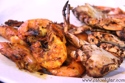 Grilled Prawns and Crabs, The Village, Pullman Putrajaya Lakeside