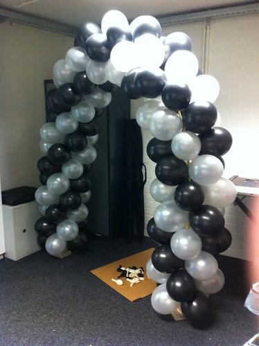 Ballonboog 5m Diploma-uitreiking Edudelta College Barendrecht