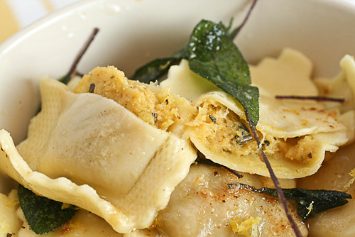 Butternut Ravioli in Sage Brown Butter (6 of 6)