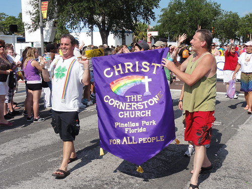 The Cornerstone Church at Saint Pete Pride