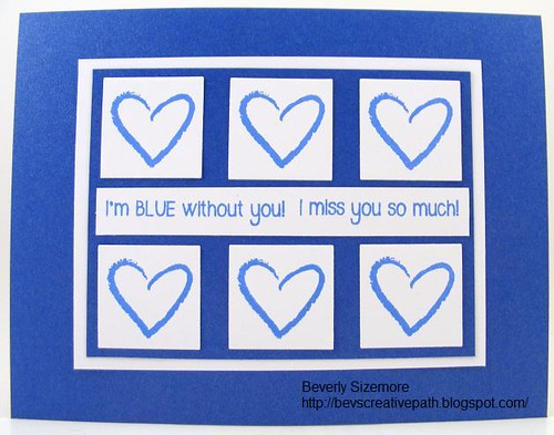SOL July Blue Without You Card