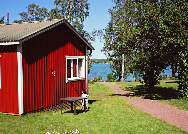 Aland cottage view