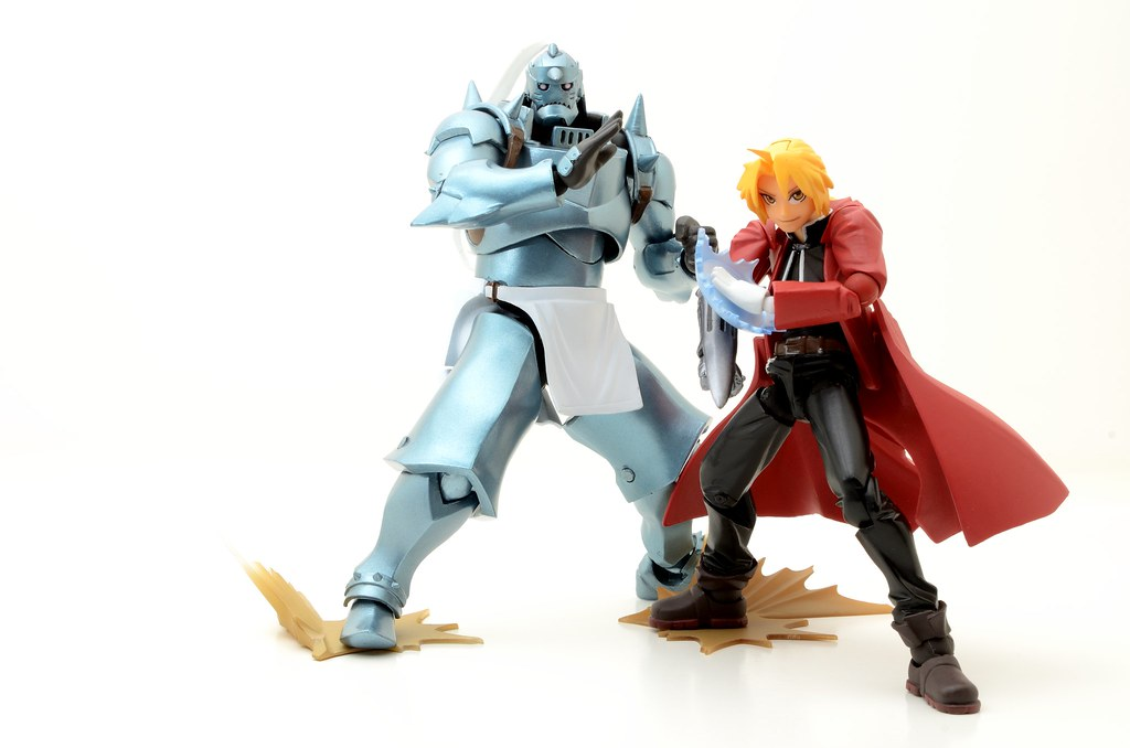 Revoltech Elric Brothers (Full Metal Alchemist)