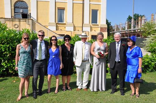 Bilkeys at Caro and Gareth's wedding