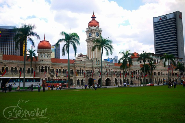 Sultan Abdul Samad Building facing Merdeka Square