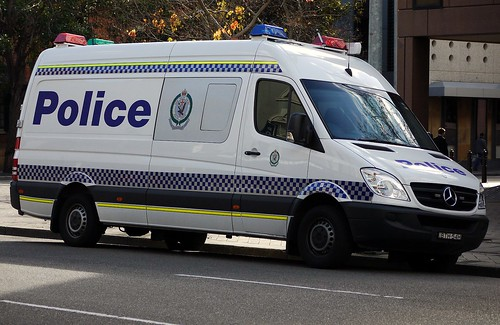 NSW Police Force Mercedes Benz Sprinter Mobile Command post