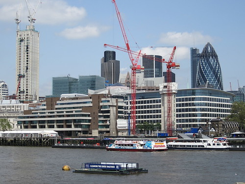 The City of London, viewed from City Hall