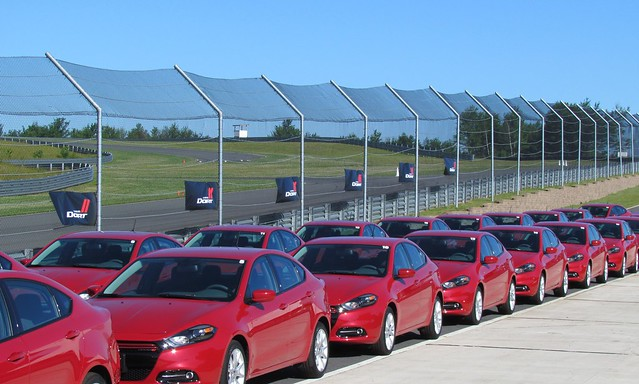New car dealers need to become a franchise of the car manufacturer.