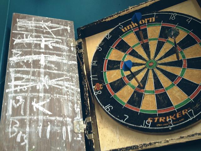 Earl Ferrers, dart board