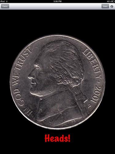 Coin toss app