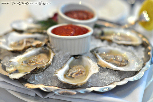Raw Oysters at The Capital Grille ~ Minneapolis, MN