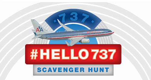 American Airlines Facebook Scavenger Hunt