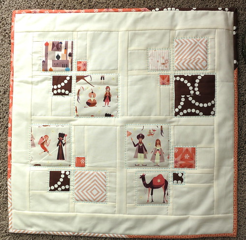 Sew, Vote, Swap Quilt -Received