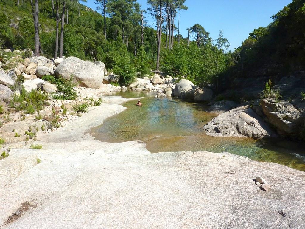 Remontée de la Figa Bona (Mela) : de bien belles vasques à la confluence du Peralzone