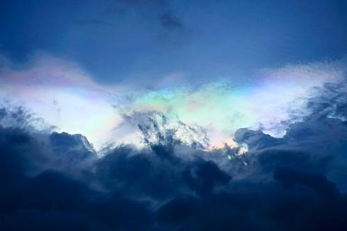 無料写真素材|自然風景|空|雲|虹