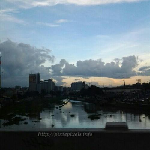 Pasig River at dusk