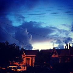 #sky #clouds #sunset #neighborhood