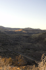 Davis Mountains Overlook at Sunset