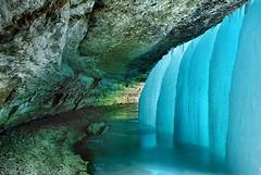 ice cave, glacial landform, cave,