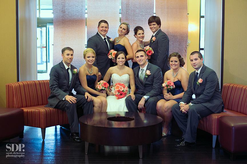 Overland Park Marriott wedding
