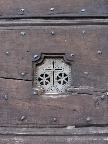 door speaker, old style