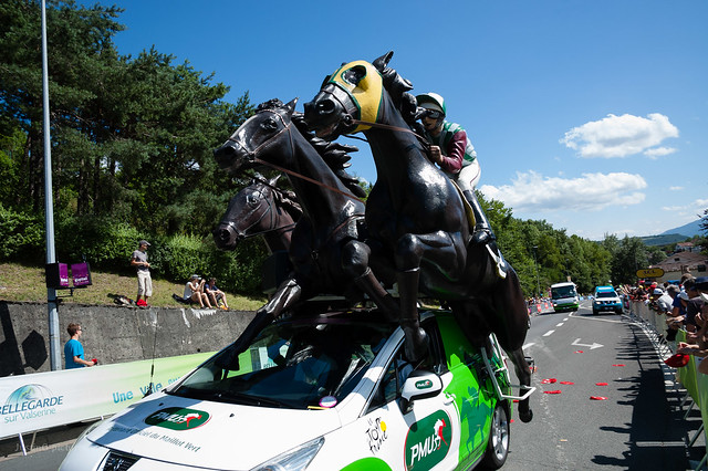 Le Tour de France, Bellegarde-sur-Valserine, France, 2012