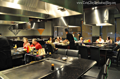 Hibachi Tables at Osaka ~ Roseville, MN