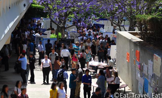 UCI Undergraduate Research Symposium Scene