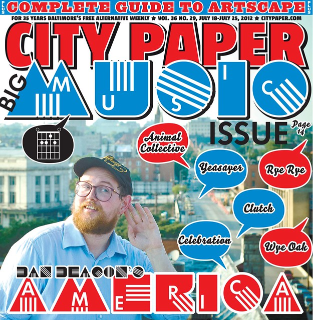 Dan Deacon City Paper cover