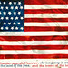Full-Sized American Flag Postcard, Signed Clapsaddle