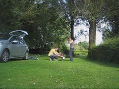 Tent Setup! - Photo of Pirmil