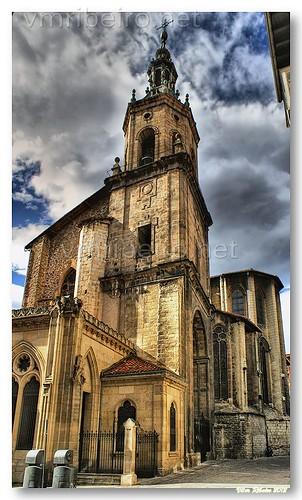 Igreja de S. Pedro Apostolo, em Vitoria by VRfoto
