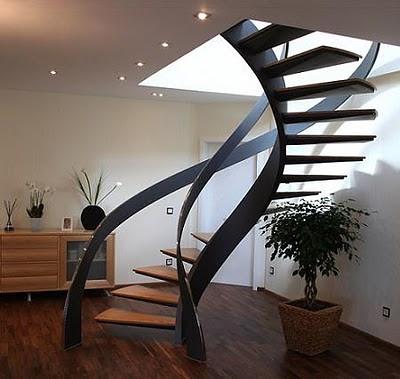 Escaleras minimalistas elegancia y modernidad para tu casa for Imagenes escaleras interiores