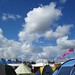 Clouds above the campsite, WOMAD
