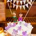 Link & Zelda cake toppers! by undeadcupcake