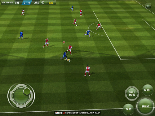 FIFA 13 iOS to Have Competitive Online Multiplayer