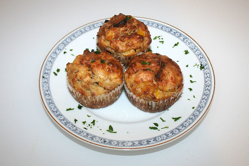 24 - Pizza-Muffins - Serviert