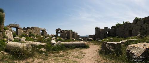 Panoràmica del monestir de Sant Simeó