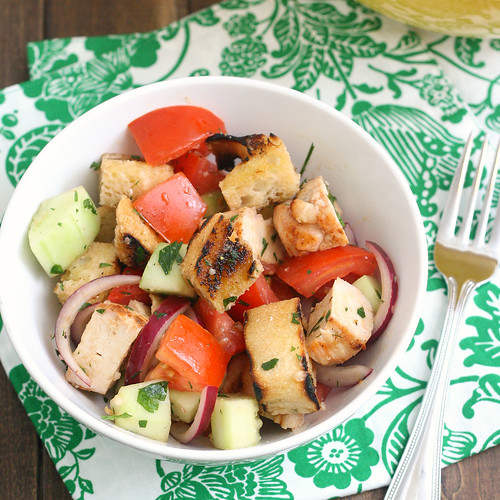 Sourdough Panzanella with Grilled Chicken