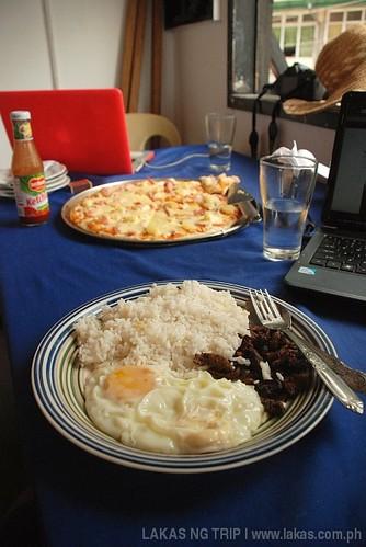 Lunch at Romblon Deli